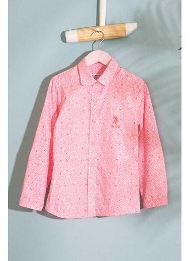 U.S.Polo Assn. Gömlek Pembe
